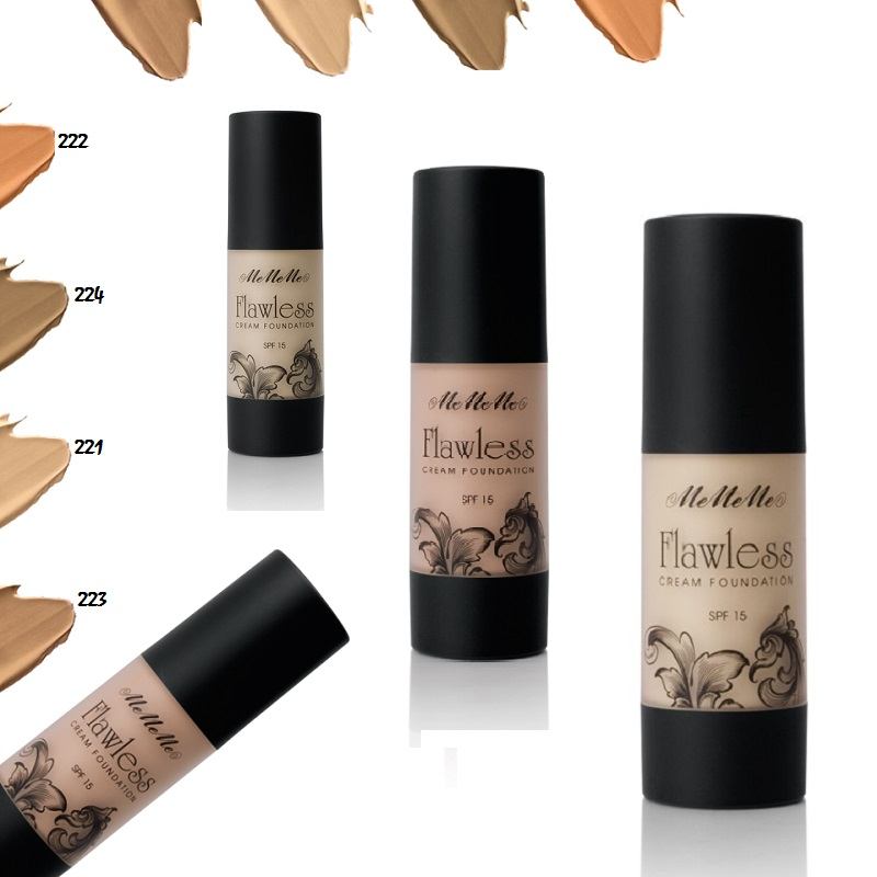 Flawless cream foundation SPF 15 - 10% SALE